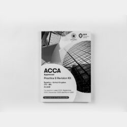 ACCA TX Taxation (UK) (FA2019) Practice & Revision Kit 2020