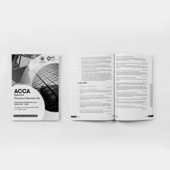 ACCA - Corporate & Business Law GLOBAL (LW-GLO) - Practice & Revision Kit - 2020/2021