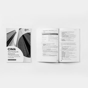 CIMA - Operational Level - P1 Management Accounting - Exam Practice Kit