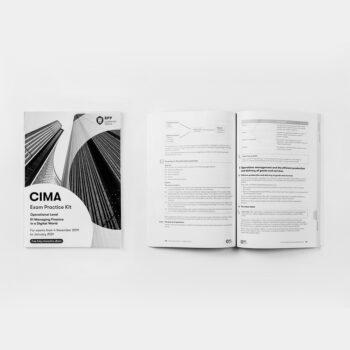 CIMA - Operational Level - E1 - Managing Finance in a Digital World - Exam Practice Kit
